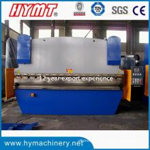 Machine à cintrer hydraulique de plaque d'acier WC67Y-125X4000 / presse plieuse hydralic