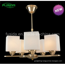 Traditional European Style Glass Chandelier Lighting (P-8115/5)