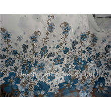 50 D impreso gasa tela floral para el verano vestido