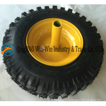 Резиновое колесо для тележки снегоуборочная