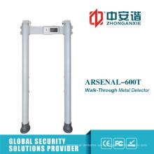 Detector de metales resistente a la sensibilidad de nivel 255 con sistema de almacenamiento en nube