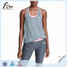Frauen laufen tragen Urban Sexy Sport Top mit Sport-BH Sportbekleidung