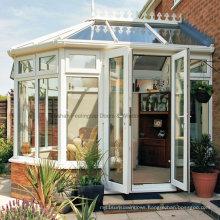 Feelingtop Laminated Safety Glass Villa and Garden Aluminum Sunroom (FT-S)
