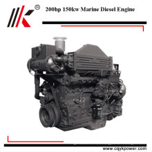 Favorable price 4 stroke 200hp marine motores inboard diesel river boat engine