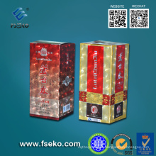 Uso de película de laminação térmica em impressões digitais