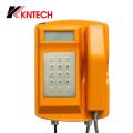 Telefone Rugbyize à prova de intempéries Telefone VoIP Knsp-18LCD da Kntech