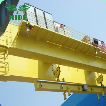 32 tonelada double beam bridge crane