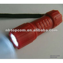 9 led 3 * linterna de plástico AAA