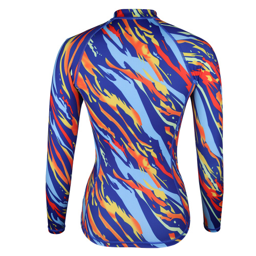 Seaskin estampado Streamline Ladies Rash Guards