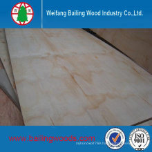 High Quality Poplar Core Commercial Plywood with Cheap Price