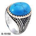 Новый Arriaval мода ювелирных изделий кольцо Серебро 925 с бирюзой камень