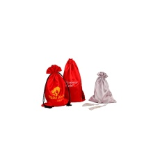soft luxurious thick satin bag/pouch for girl