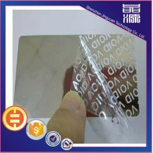 VOID Anti-fake Security Label Hologram Sticker