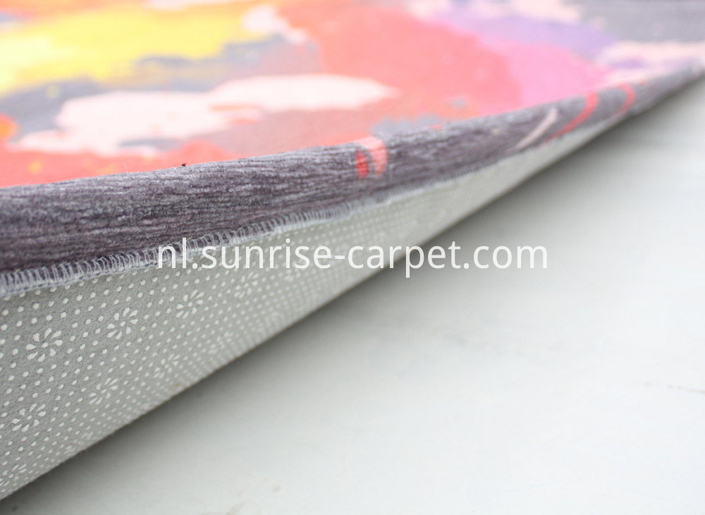 Polyester Printed carpet exquisite border