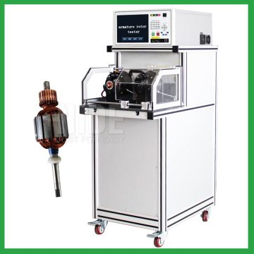 Auto AC/ DC motor armature rotor test machine