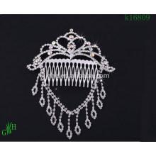 Dreiteilige Hochzeit Rhinestone Halskette