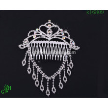 three-piece Wedding rhinestone necklace