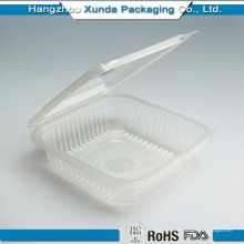 Vente en gros de contenants de contenants de plats en plastique transparent sur mesure