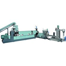 Washed PP PE Flake Granulating Machine for Recycling