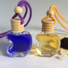 botella del aroma de la forma de la manzana para el ambientador del aire del coche del aroma