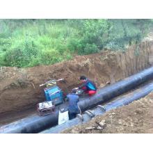 Tubo de soldadura a tope de HDPE