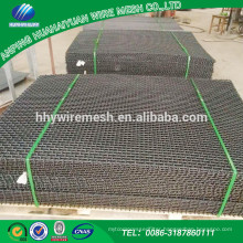 Stone gravel or coal or slag crusher screen wire mesh