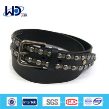 Japan style real leather metal belt