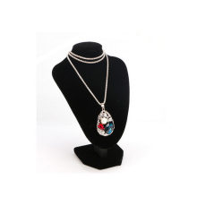 Collar pendiente de la exhibición del collar de la joyería del terciopelo de moda (NS-VBK-3)