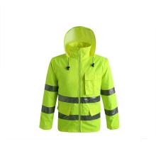 Customized Waterproof Winter Safety Jacket Reflective Jacket