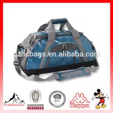 Nuevo bolso de lona de la moda con el recorrido del compartimiento Bacpack Bolsos de lona de la capacidad grande de los hombres