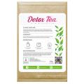 100% chá de desintoxicação de ervas orgânicas chá magro chá de perda de peso (manhã chá impulso 14 dias)