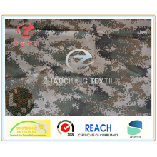 1000d Cordura Army Camouflage Printing PU Coated with Fire Retardent Fabric for Military Uses 350GSM (ZCBP007)
