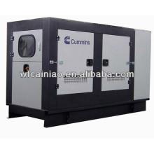 Générateur diesel refroidi à l'eau de 6 cylindres silencieux