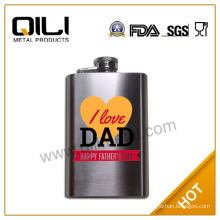 5oz stainless steel whisky hip flask
