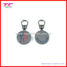 Custom Metal Round Shape Zip Puller for Garment