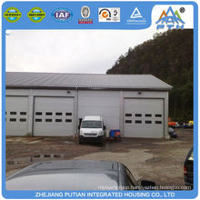 Made in china steel structure building metal prefabricated garage