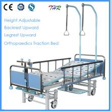 Lit orthopédique manuel médical 3-Crank (THR-TB004)