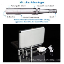 Microneedle Therapy Rechargeable Micro Skin Derma Pen