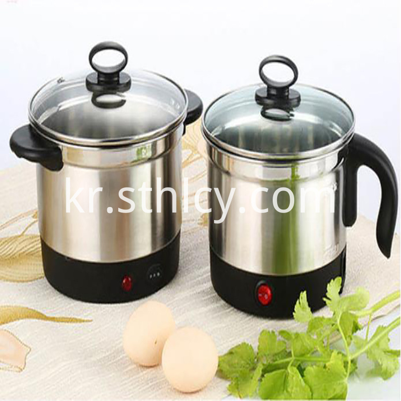 Electric Stainless Steel Pot