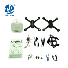 Wholesales 2.4GHz 6 Axis Gyro Height DIY Technology Educational RC Quadocpter Kit with 0.3MP Wifi Camera For Sales