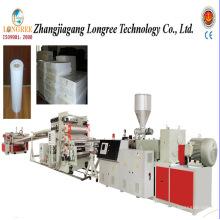 Chaîne de production de plat rigide de PVC de 1000mm