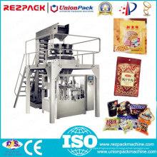 Machine de conditionnement d'aliments pour garnissage automatique de remplissage de pop-corn automatique