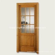 9 Lite Wood Single Glass Door Design