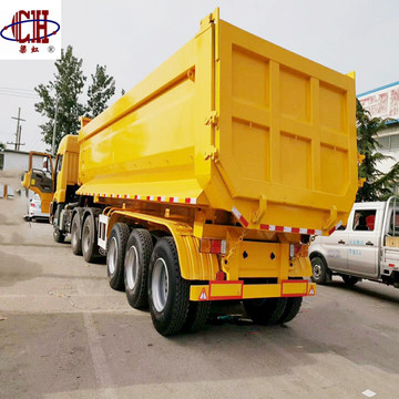 U Type 3Axles Dump Trailer