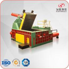 Machine hydraulique de presse à balles d'acier de cuivre d'aluminium de ferraille