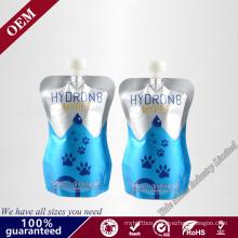 Special Shaped Reusable Suction Plastic Nozzle Bags