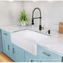 "36"" United State Single Bowl Farmhouse Kitchen Apron Sink"