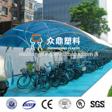4mm/6mm/8mm/10mm colored waterproof polycarbonate carport