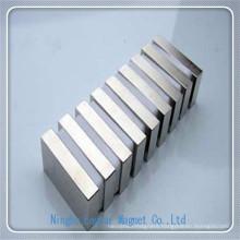 N42sh Neodymium Permanent Block Magnet with Nickel Plating