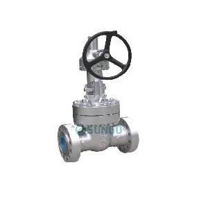 Conception de port Full Cast Steel Gate Valve